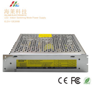 Indoor LED Switching Mode Power Supply 200W Eldv-12e200b pictures & photos