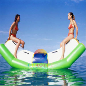 0.9mm PVC Floating Inflatable Water Totter for Water Game