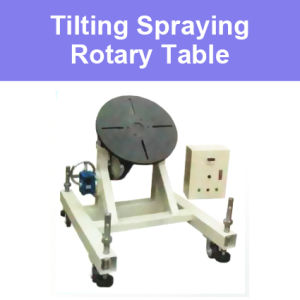 Rotary Working Station Tilting Table for Spraying Robot Arm Manipulator Coating Welding Thermal Spray Rotator Lathe Work Station Equipment
