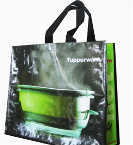 Best Quality Widely Use Yellow Non Woven Folding Shopping Bag (MECO359) pictures & photos