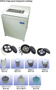 High-Speed Refrigerated Centrifuge (GTR10-2) pictures & photos