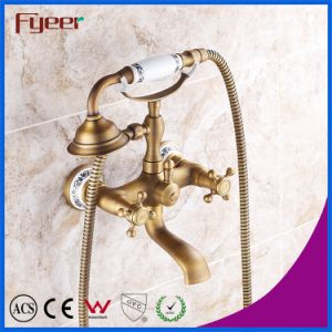 Fyeer Bathroom Antique Telephone Faucet Shower Mixer Kit pictures & photos