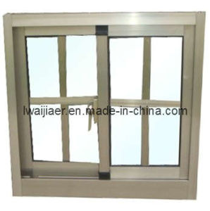 Aluminium Sliding Window with Grid (ZXJH010) pictures & photos