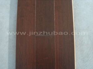 Stained Bamboo Flooring (Black Walnut) (BZ-SW001)