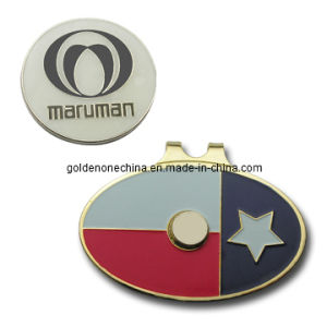 Promotion Gift Metal Hat Clip with Ball Marker pictures & photos