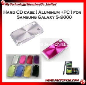 Hard CD Case (Aluminum +PC) for Samsung Galaxy S-I9000 (MSGS -2)