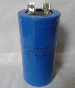 Unpolarized Capacitor CD60 500 Micro Farad 250VAC
