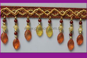 Shiny Beaded Fringe for Curtain Decor (GM-X-20)