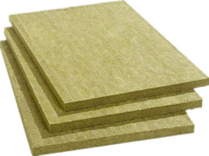 China low thermal conductivity rockwool insulation board for Mineral wool board insulation price