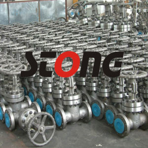 API ANSI Cast Steel RF Bw 600lb Gate Valve pictures & photos