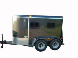 Horse Trailer 2 Horse Slant Load Lengthened Trailer