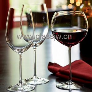 217mm Height Clear Wine Glass, Capacity 540ml, OEM Service Provided