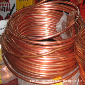 Premium Quality Pancake Coil Copper Tube (C12100) pictures & photos