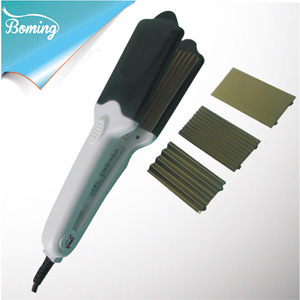 Titanium Hair Straightener with Different Exchange Plates (608)