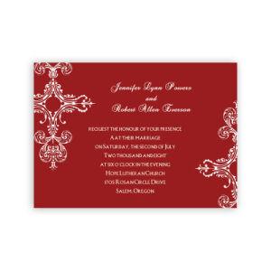 2019 Latest Designs Luxury Lace Chinese Wedding Invitation Card