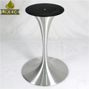 Hot Aluminum Table Base Trumpet Tulip For Coffee Dining Gl