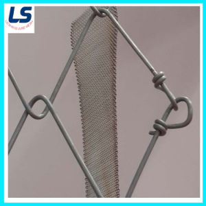 High Quality Top Material Production Hot-Dipped Galvanized Chain Link Fence