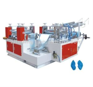 Disposable PE Plastic Shoe Cover Making Machine (ZD-XT) pictures & photos