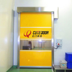 High Quality Industrial Automatic Flexible Rapid Speed PVC Door & China High Quality Industrial Automatic Flexible Rapid Speed PVC ...
