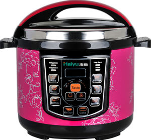 Rose Red Color Multi Cooker Hot Sale Right Now