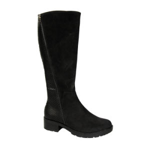 Fashion and Warm Winter Long Boots for Girls pictures & photos