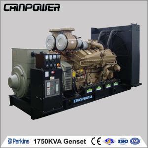 1750kVA 50Hz Open Type Turbine Engine Generator with Stamford Alterantor  Big Capacity Generator Sets