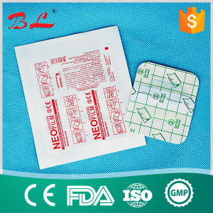 Disposable Transparent PU Wound Dressing Pad Surgical Wound Dressing Bandage pictures & photos