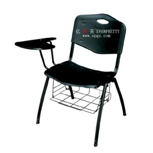 Student Study Classroom Sketch Chair with Writing Pad pictures & photos