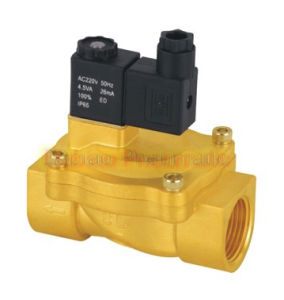 1′′ Fluid Control Solenoid 2/2 Way Valve Brass 2V250-25 High Qulaity Standard Voltages