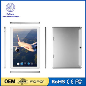 10.1 Inch 3G Mtk6580 Quad-Core 1280X800 IPS Tablet