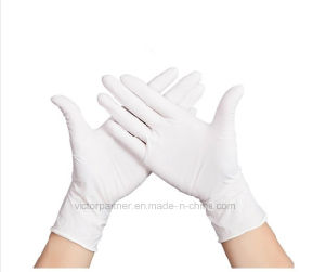 Good Price Small MOQ Powder Free Disposable Latex Examination Gloves for Medical Use pictures & photos