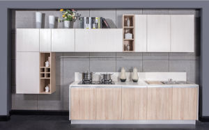 Kitchen Furniture Melamine MDF Cabinet (zg-011)