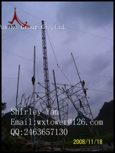 220kv Double Circuit Electric Lattice Steel Tower pictures & photos