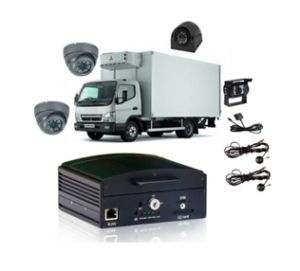 4CH D1 H. 264 Mobile DVR Solution for Trucks pictures & photos