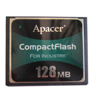 128MB Compactflash Type I CF for Industry Apacer Industrial Memory Card