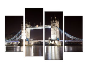 London Bridge 4 Pieces Canvas Prints Canvas Art