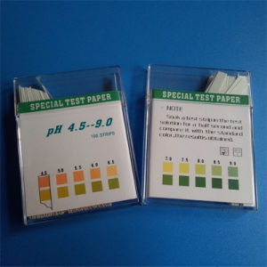 pH Strip 4.5-9.0/Rapid Diagnostic Test Kit/Urine Strip/pH Test pictures & photos