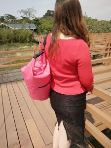 Fashion and Durable PVC Ocean Backpack with Pocket