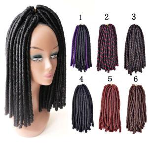 Jumbo Braiding Hair Black Purple Grey Synthetic Extension 24inch Ombre Kanekalon