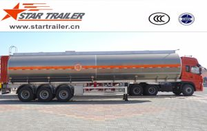 3 Axles Fuel Transport Tank Trailer pictures & photos