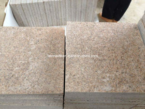 Flamed G682 Yellow Granite for Stair or Flooring pictures & photos