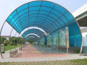 Clear Plastic Sheet / Polycarbonate Roof Sheet (Tonon0717)