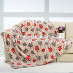 Autumn and Winter Flannel Single/Double Blanket Baby Blanket Printed Sheep
