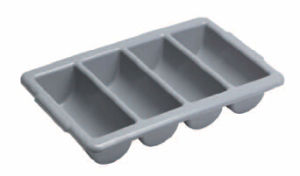 Plastic Cutlery Tray for Restaurant (0072) pictures & photos