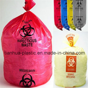 Customized Recyclable Star-Sealed Garbage Bag on Roll/Block