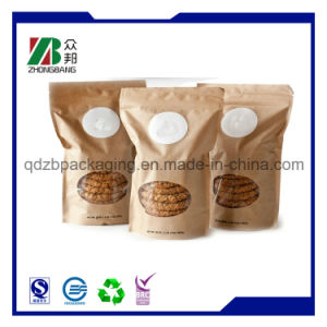 OPP VMPET PE Laminated Material Zip Lock Bag for Cookies pictures & photos