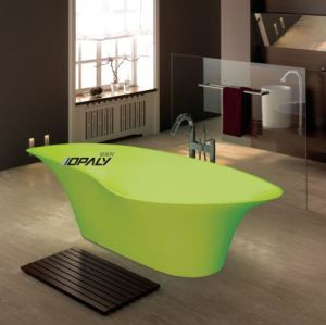 Acrylic Solid Surface Freestanding Bathtub (OE 009) pictures & photos