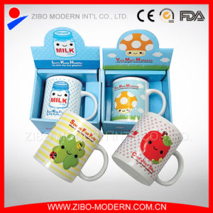 White Blank Ceramic Coffee Mugs with Printing Gift Box (GP1003) pictures & photos