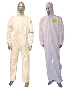 Custom Made Chemical Coverall Type 5 Type 6 Ce Certificated