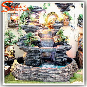 China Supplier Artificial Fake Plastic Stone Waterfall pictures & photos